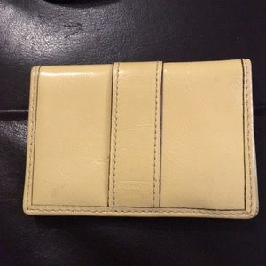 Coach billfold 4,5x3""